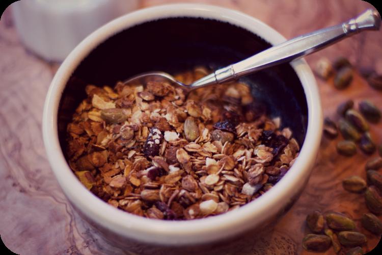 Coconut Cinnamon Granola (Gluten Free)