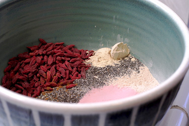 smoothie powder
