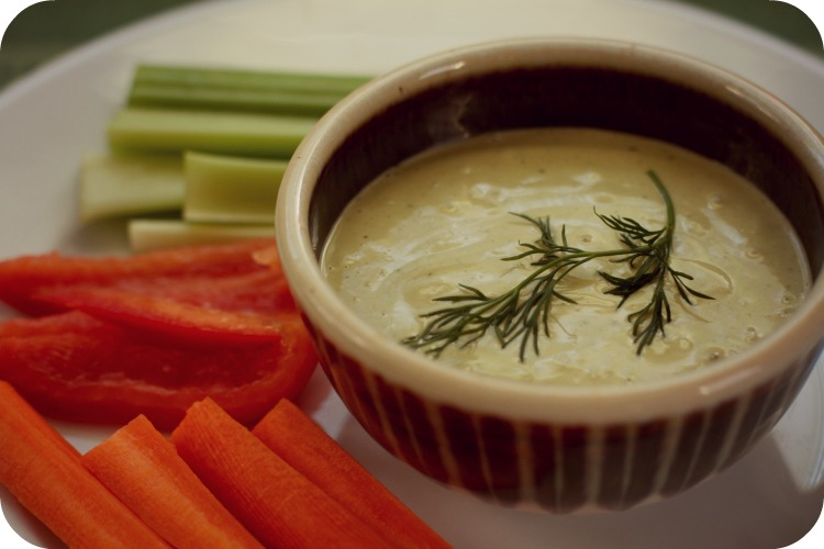 tahini dip - 10 day detox - dr. mark hyman