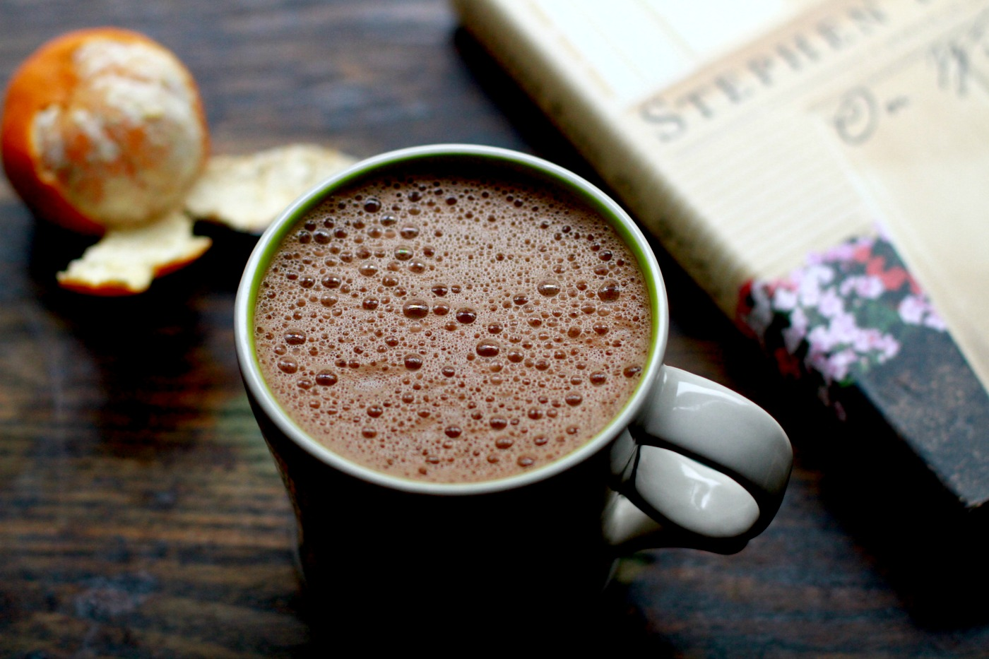superfood coconut hot chocolate