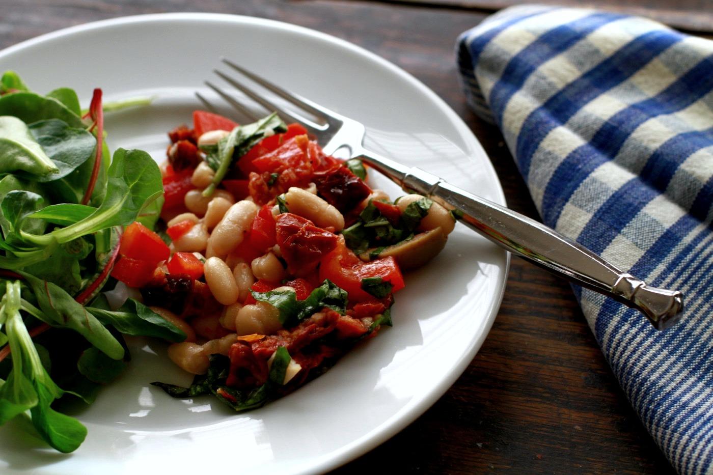 cannelini bean salad