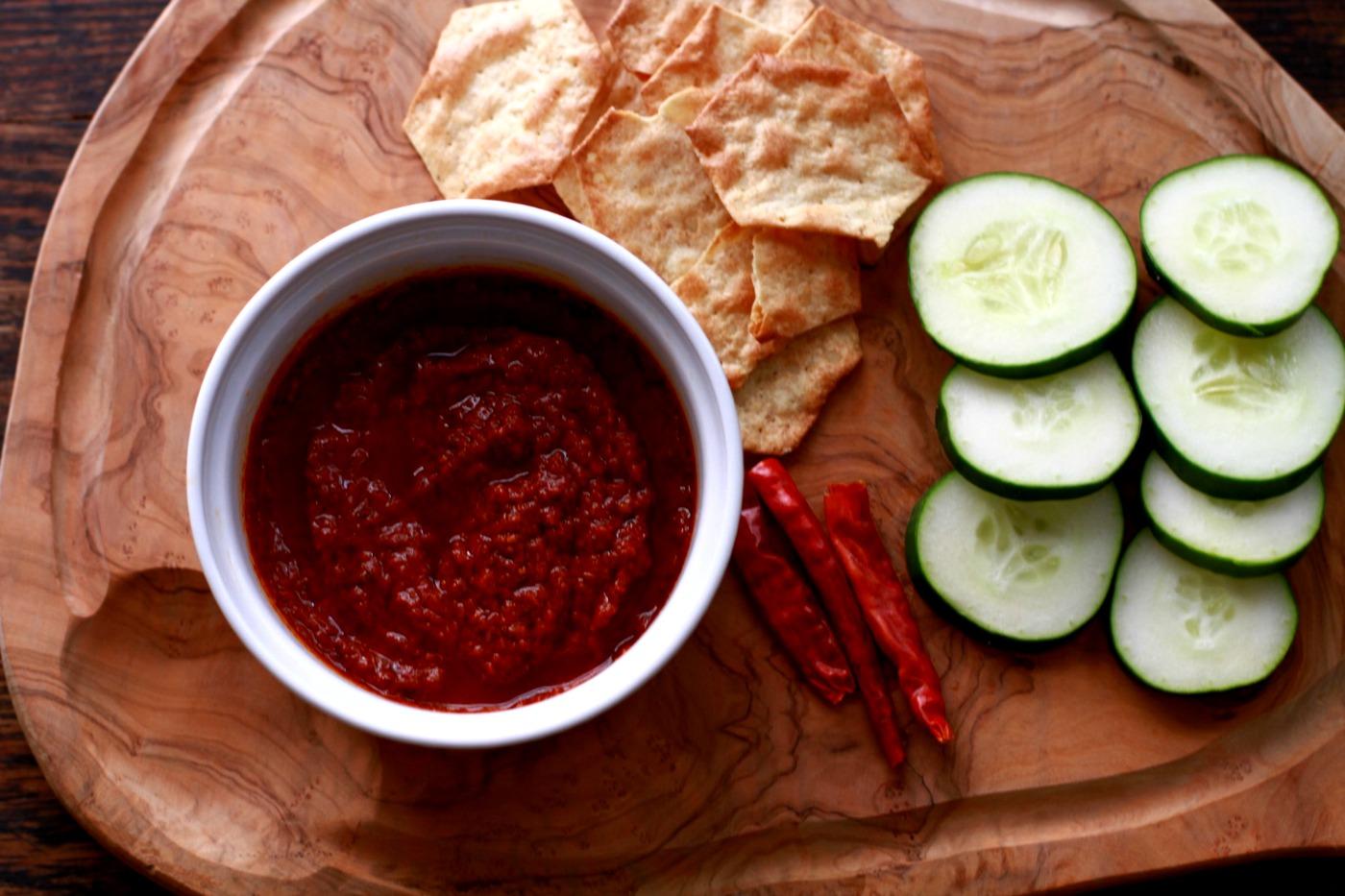 spicy harissa sauce
