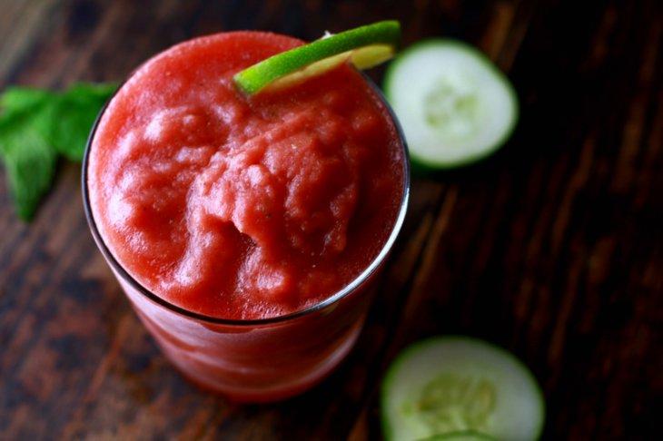 watermelon slushie