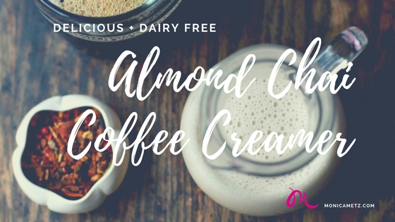 almond chai coffee creamer