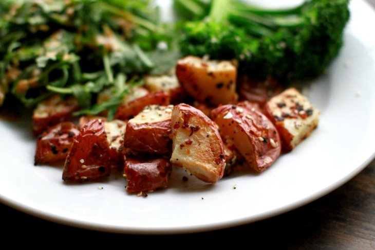 everything spice blend roasted potatoes