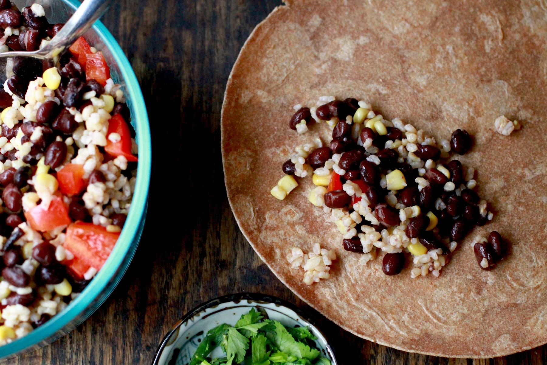 prep ahead burrito bowl