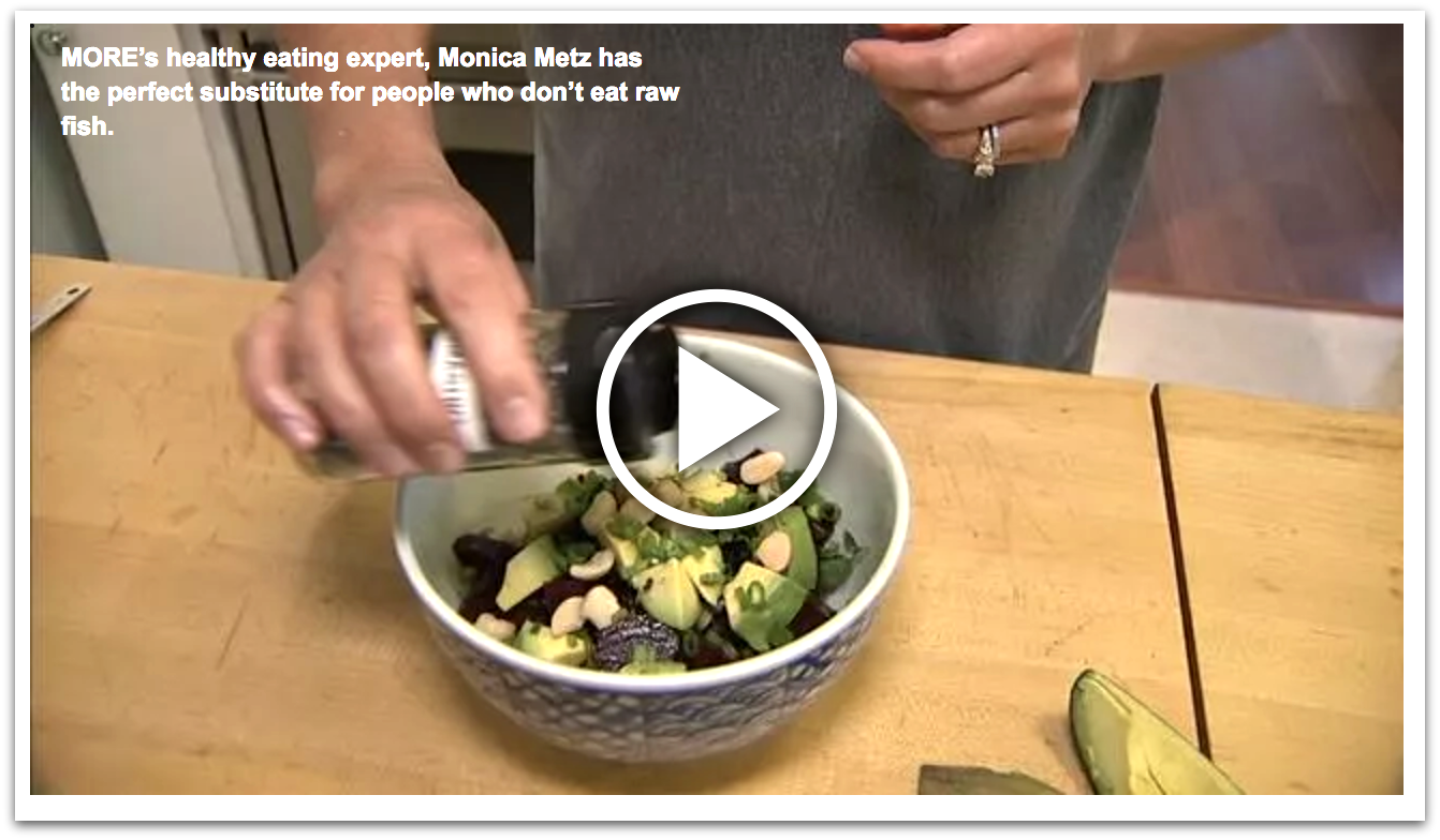 plant based poke video