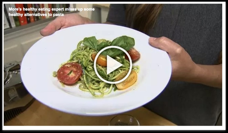dairy free pesto with zucchini noodles