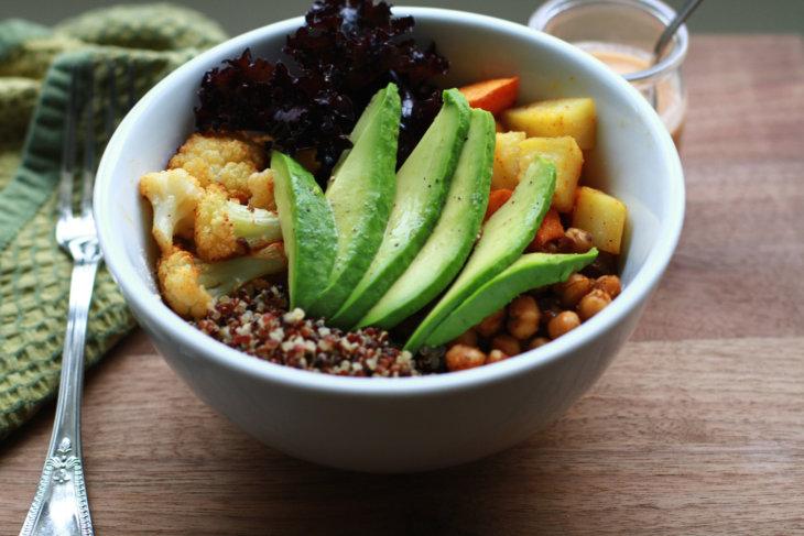 buddha bowl avocado