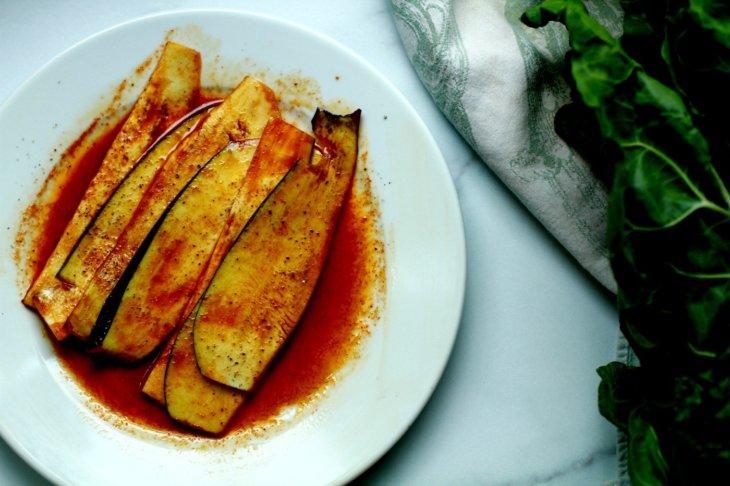 eggplant bacon marinade