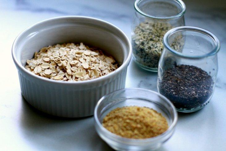 oats hemp chia flax