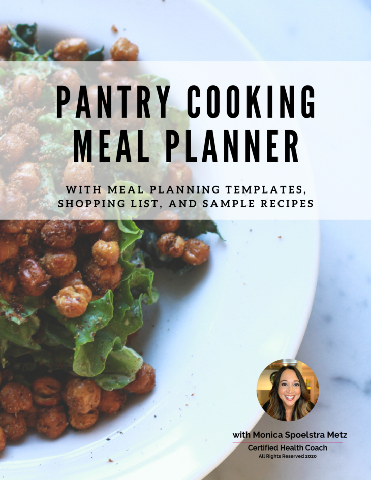 pantry cooking meal planner