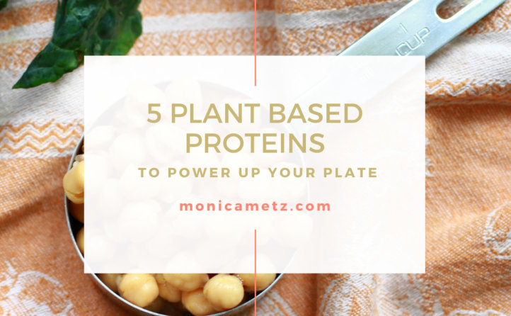 5 plant based proteins